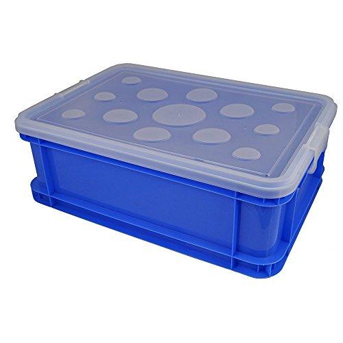 Gies Haushaltsware, Plastik, blau, 52 x 35.5 x 18 cm