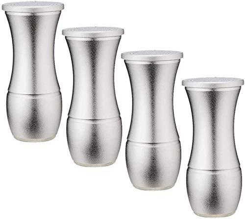 SHOP YJX Patas de aluminio para sofá, patas de mesa ajustables, aptas para armarios, armarios de baño, mesitas de noche, 4 piezas (color: 7, tamaño: 8 cm)