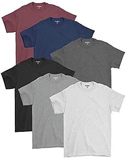 Kit 06 Camisetas Básicas Masculinas De Algodão Premium