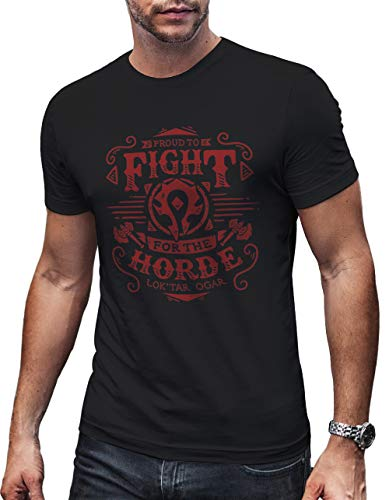 Instabuy World of Warcraft Horde T Shirt T-Shirt Tailles Unisexes S-XL
