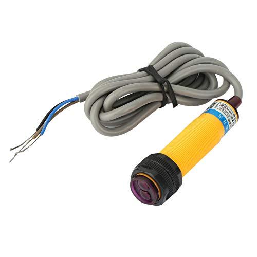 Interruptor de proximidad de capacitancia Interruptor fotoeléctrico normalmente abierto Respuesta rápida difusa Distancia ajustable para control