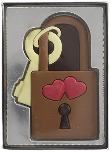 Schokoladen Schloss Liebesschloss 80g