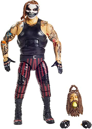 "WWE ""The Fiend"" Bray Wyatt Elite Series #78 Deluxe Action Figure with Realistic Facial Detailing, Iconic Ring Gear & Accessories"