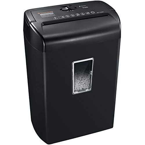 Check Out This Bonsaii 10-Sheet Cross-Cut Paper Shredder, Credit Card Shredders for Home Office Use,...