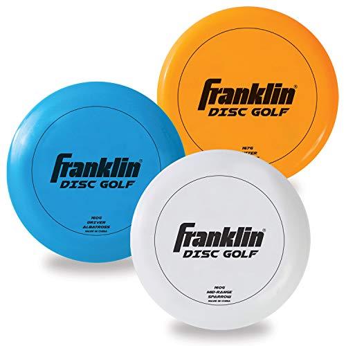 Franklin Sports Disc Golf 3 Pack