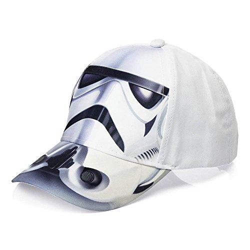 4539 Kinder Cap Basecap Baseball Cap Kappe Star Wars Darth Vader f. Jungen (Sturmtruppler, 52cm)