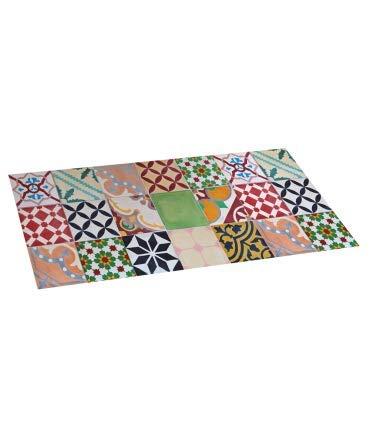Alfombra DE Vinilo Mosaico Color 50X110