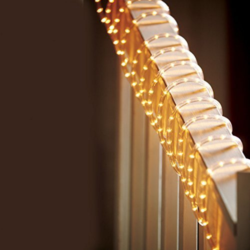 Celebrations Clear PVC Rope Lights with 216 Lights, 18-Feet, Clear - 2 Pack
