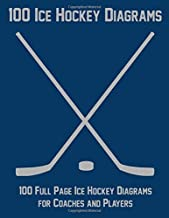 100 Ice Hockey Diagrams: 100 Full Page Ice Hockey Diagrams for Coaches and Players
