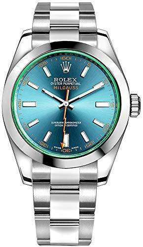 Rolex Milgauss 116400GV Z-Blue dial Stainless Steel Case & Oyster Bracel