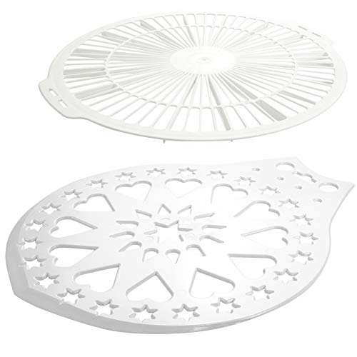 Hausfelder Tortenheber Kuchengitter Set, spülmaschinengeeignet, für Kuchen und Torten (1 x Tortenheber, 1 x Kuchengitter)