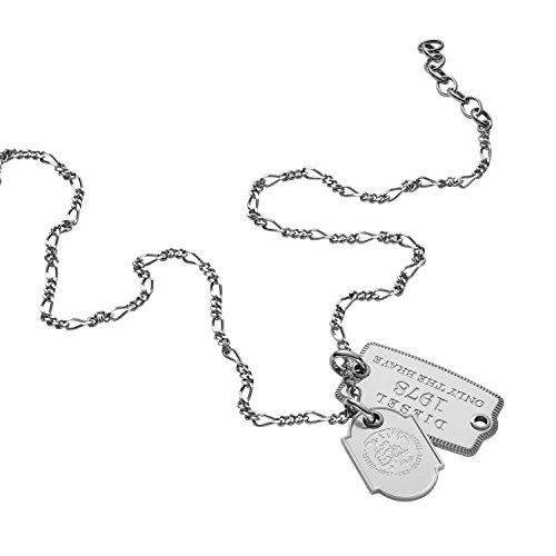 Diesel Collar con colgante Hombre acero inoxidable - DX1132040