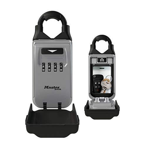 Master Lock Key Safe with Adjustable Shackle 5420EURD-Caja de Seguridad para Llaves (combinación)