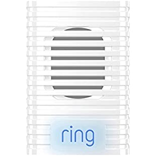 Ring Chime - Wi-Fi Enabled Indoor Chime for Video doorbell, White:Kisaran