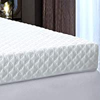 Risar 3 Inch Queen Memory Foam Mattress Topper with Cover