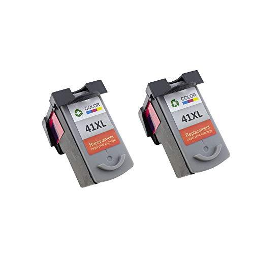 ZITENG CGBH PG-40 CL-41 Cartucho de Tinta Compatible PG40 for Canon Pixma MP140 MP150 MP160 MP180 MP190 MP210 MP220 MP450 MP450 Impresora MP470 (Color : 2PCS CL41XL Color)