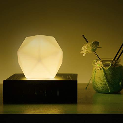 Luce Notturna Bambini, CNSUNWAY LED Luce Notte per Bambini, Lampada Notturna per 10 Colori, USB Ricaricabile Portatile Notturna Lampada per Bambini,Ragazzi,Cameretta Bambini