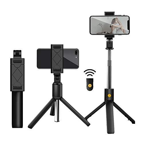 Bastão de Selfie com Tripé para Celular com Controle Disparador