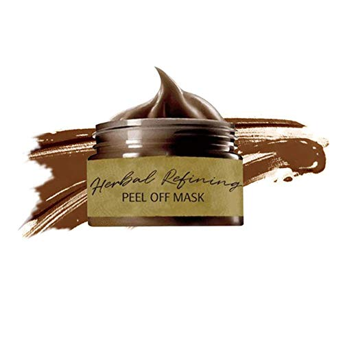 Blackhead Remover Mascarilla Exfoliante Facial, Herbal Refining Beauty Peel-Off Mask, Lagrimeo Contrae Poros Máscara Eliminar Espinillas - 80ml