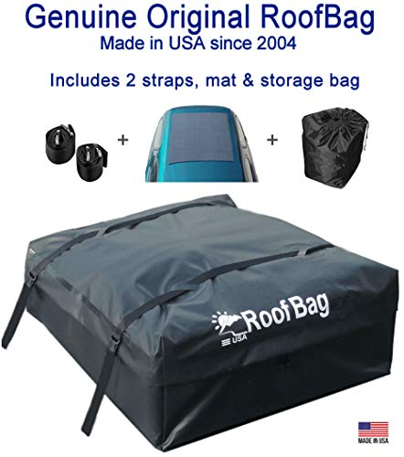 RoofBag Rooftop Cargo Carrier Bag | Made in USA | 15 cu...