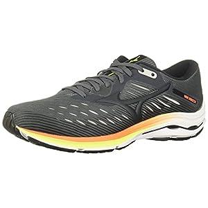 Mizuno mens Wave Rider 24 Running Shoe, Castlerock-phantom, 10.5 US
