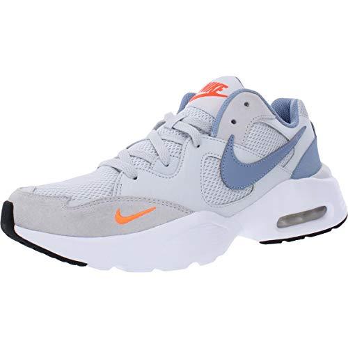 Nike Zapatillas de correr para hombre, blanco (Pure Platinum/Indigo Fog-white), 42.5 EU