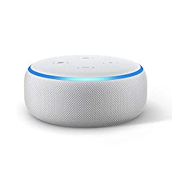 Echo Dot (3rd Gen) – New and improved smart speaker with Alexa (White),Amazon,C78MP8
