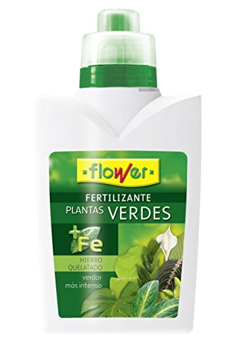 Flower 10533 10533-Abono líquido Plantas Verdes, 500 ml, No Aplica, 10x6.2x19 cm
