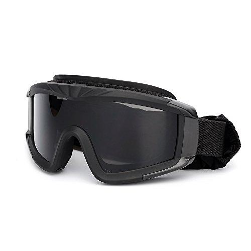 KKmoon Gafas de protección a prueba de viento para Militar Airsoft Táctico Gafas de Moto Gafas Crossed Gafas Ciclismo