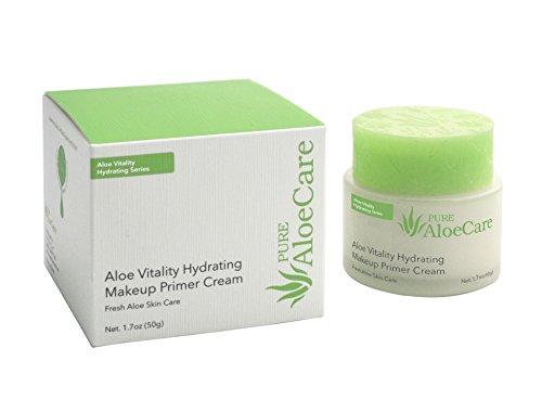 PURE AloeCare Organic Aloe Vera Vitality Hydrating Makeup Primer...