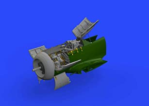Eduard Brassin 1:48 Fw-190 A-8 Engine & Fuselage Gun Resin-PE Detail Set #648464
