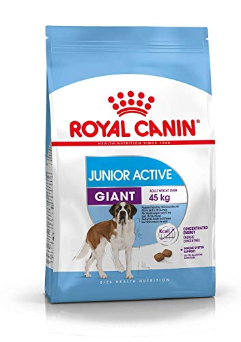 ROYAL CANIN Puppy/Junior Dry Dog Food Giant Active 8-18/24 Meses (>45 kg) 15 kg
