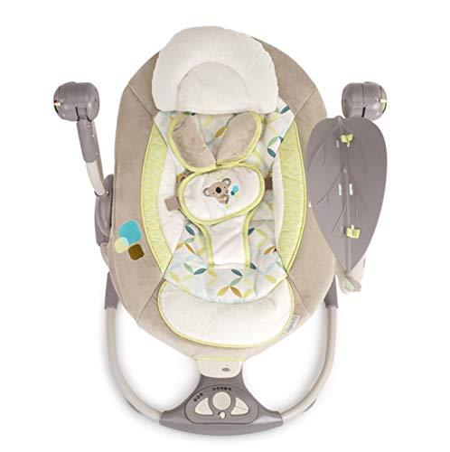 BIANJESUS babywip, afstandsbediening schommelstoel schommel pasgeboren kleine kinderen muziek batterij snelle montage elektrisch