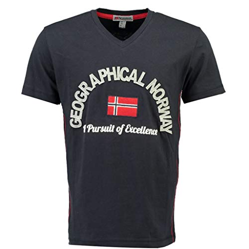Geographical Norway Camiseta DE NIÑO JUJUBE Azul Marino 14