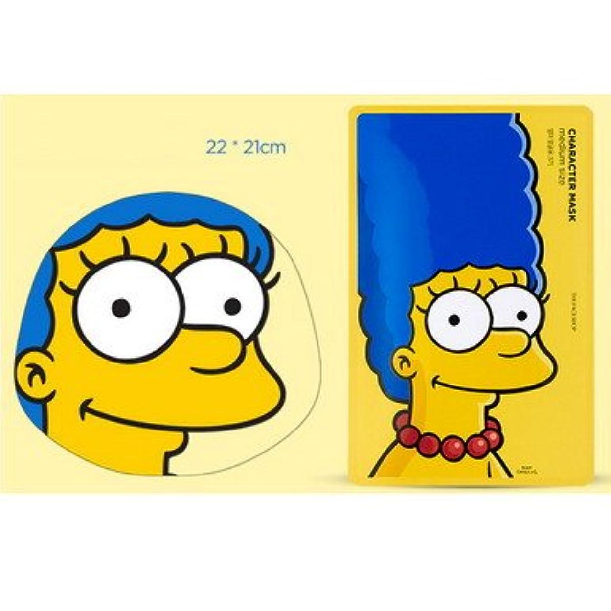 静かなビバ前兆【The Face Shop (ザ?フェイスショップ)】 The Simpsons ザ?シンプソンズ キャラクターマスク 25g (3種類選択1) (マージ (ザクロ)) [並行輸入品]