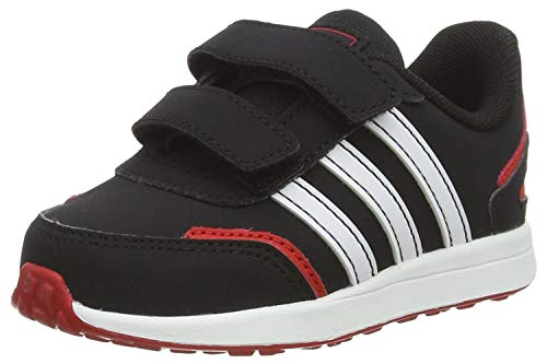 adidas VS Switch 3 I, Zapatillas Unisex Niños, Negbás Ftwbla Escarl, 25 EU