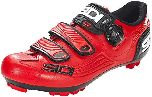 Sidi MTB Trace 2019 - Zapatillas de Ciclismo, Color Rojo, Total Red, 43 EU