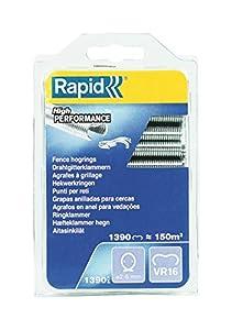 Rapid 40108799 Grapas, Plata, Pack of 1390, Set de 1390 Piezas