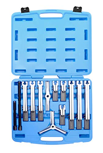 Stahlkaiser Profi-Abzieher-Satz Abzieh-Werkzeug Set 2-und 3-armig 12-teilig