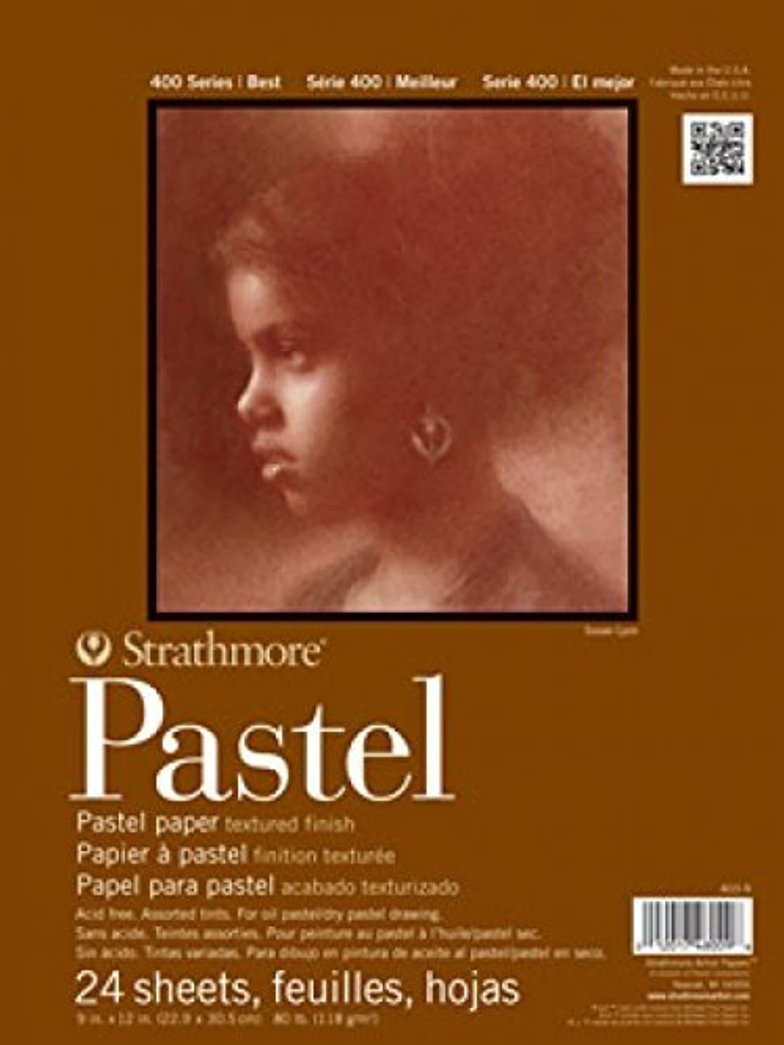 Strathmore 400 Series Pastel Pad, Assorted Colors, 18