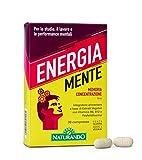 Naturando srl Energia Mente - Complemento Alimenticio Que Mejora La Memoria Y Las Funciones Cognitivas 30 g