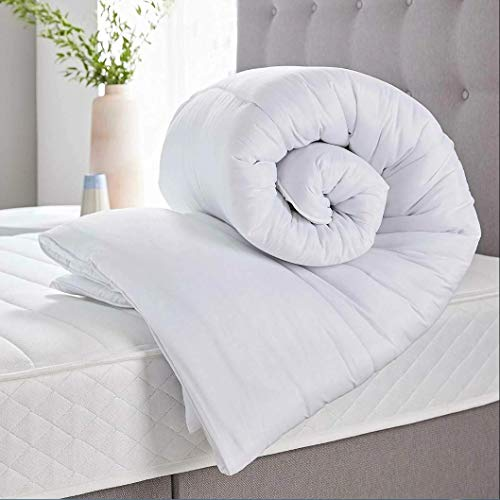 CT Anti Allergy Polycotton Cover Duvets Super Soft Warm Cosy Hollowfibre Winter Season Quilts 13.5 Togs (King Size)