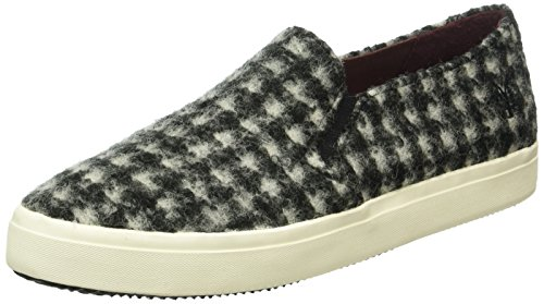 Marc O'Polo Damen Sneaker Sneakers, Mehrfarbig (Black/White 569), 40 EU