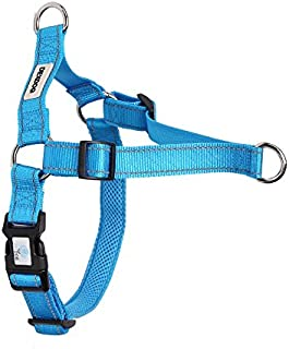DEXDOG EZTrainer No Pull Front Attachment Clip Dog Harness for Training Running Comfort