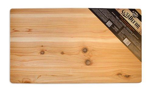 Axtschlag werk- & dressoirplank, Western Red Cedar, hout, 700 x 400 x 25 mm