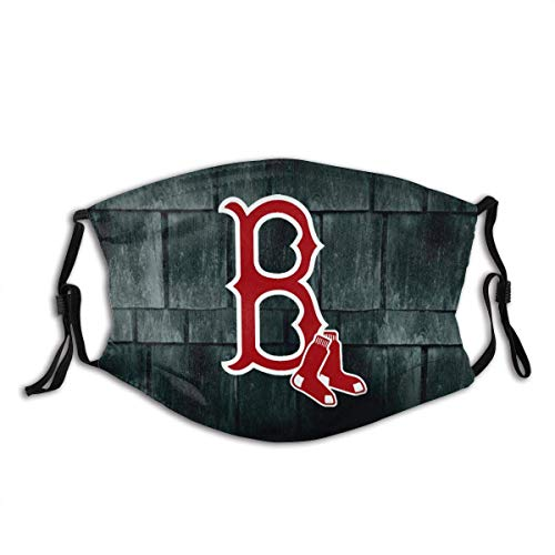 Boston-Logo Red-Sox Face Cover Summer Headwear Lightweight Breathable Unisex Face Mask face mask with adjustable ear loops
