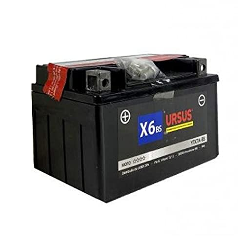 Batería URSUS X6 BS para moto 6 Ah