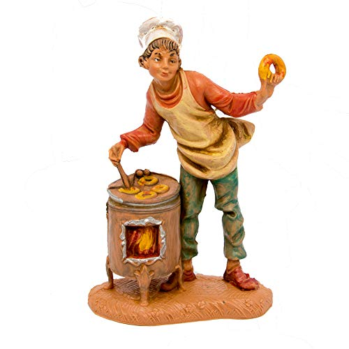 Fontanini Statuine Presepe: Pastore Cuoco 10 cm 220