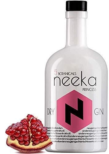 neekaPRINCESS | Granatapfel-Gin | 0.5 L | Premium Dry Gin & Handcrafted in the Black Forest – Germany | 100% Gin Geschmack