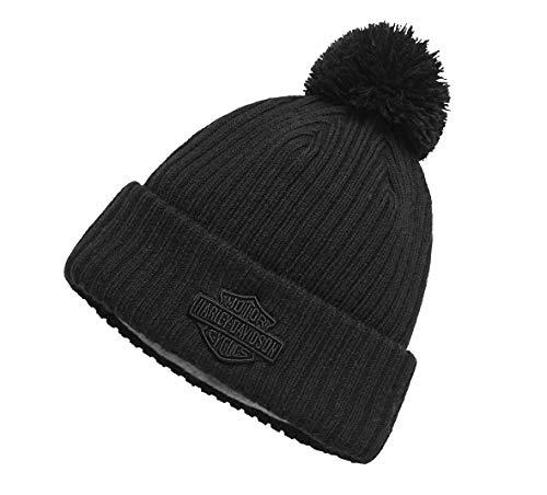 Harley-Davidson Cuffed Knit Hat, Black